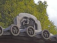 南宋寺-唐門の鬼瓦