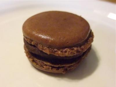 チョコマカロン完成形